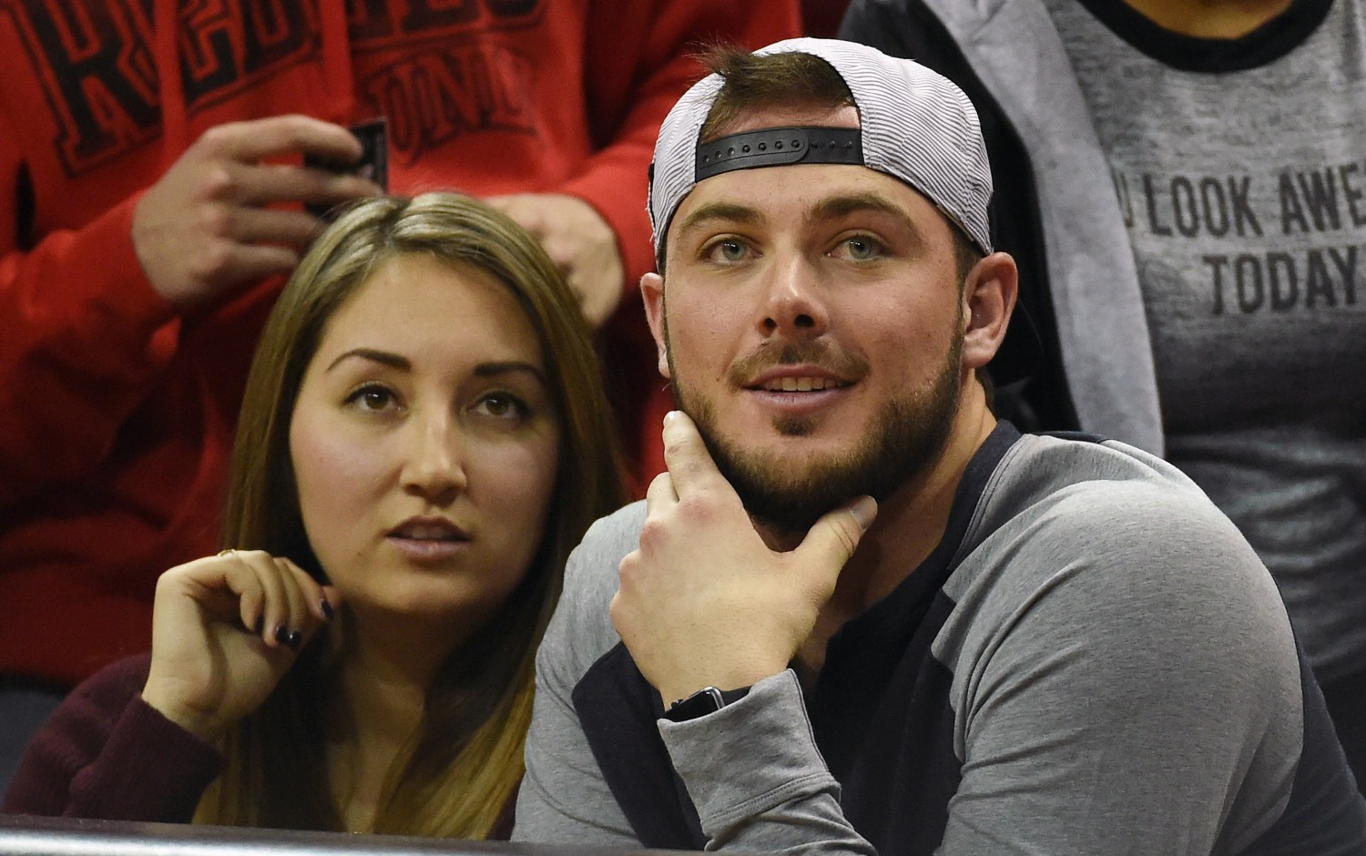 Kris Bryant and Fiancee