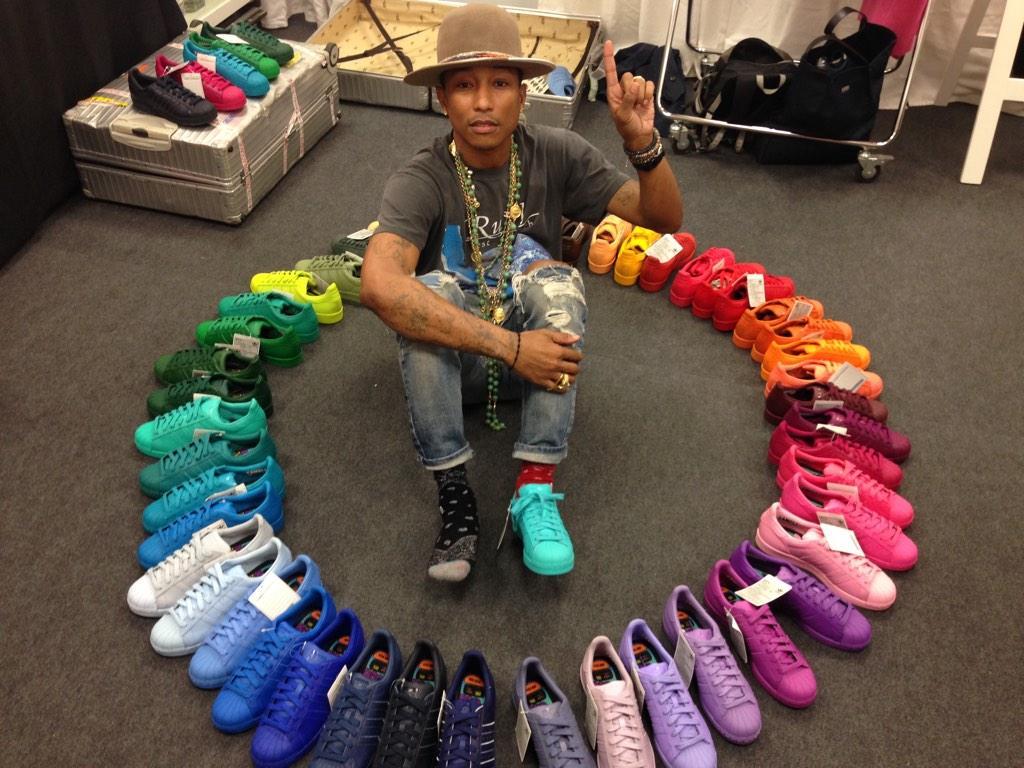 Pharrell and Adidas