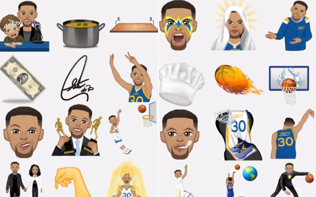 Steph Curry Emoji
