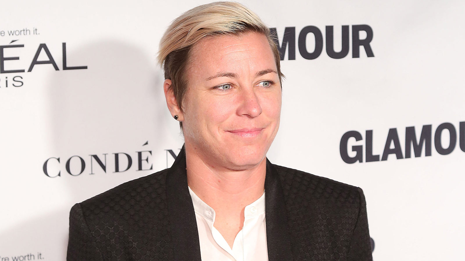 NEW YORK, NY - NOVEMBER 09:  Soccer champion Abby Wambach attends Glamour's 25th Anniversary Women Of The Year Awards at Carnegie Hall on November 9, 2015 in New York City.  (Photo by Taylor Hill/Getty Images)