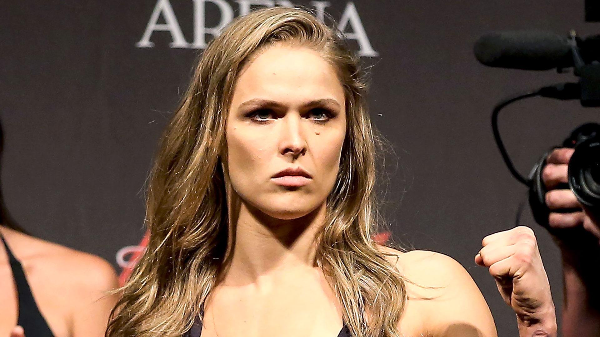 Ronda Rousey NO DAPL