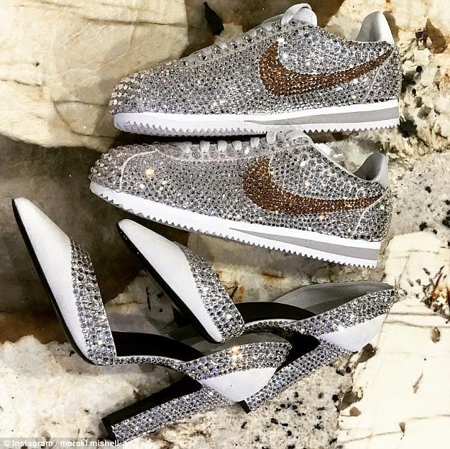 Serena Williams Wedding shoes